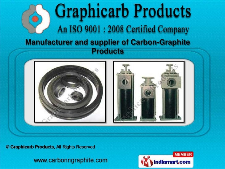 Manufacturer and supplier of Carbon-Graphite                 Products