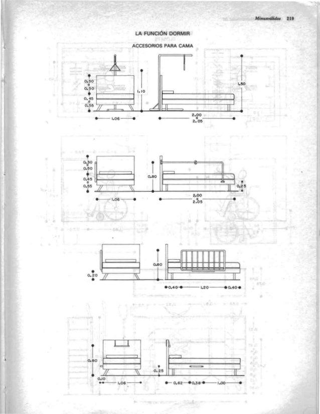 Arquitectura habitacional plazola for Medidas de una oficina arquitectura