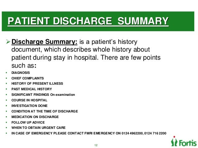 Wrok flow of Cath lab Process – Discharge Summary