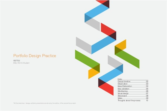 Design practice Project - MSc HCI