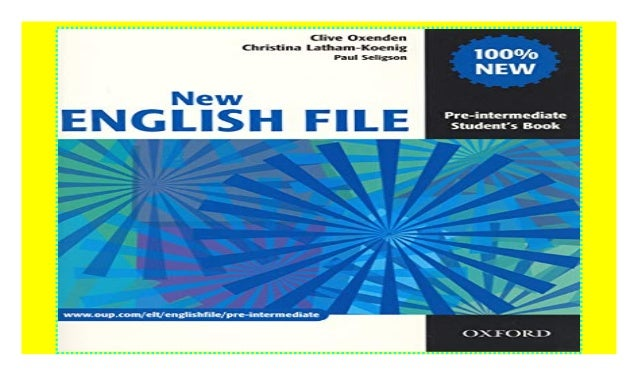 New English File Pre Intermediate Student S Book Student S Book Pr