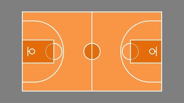 Slidemodel Com Basketball Court Game Plan Powerpoint Shapes