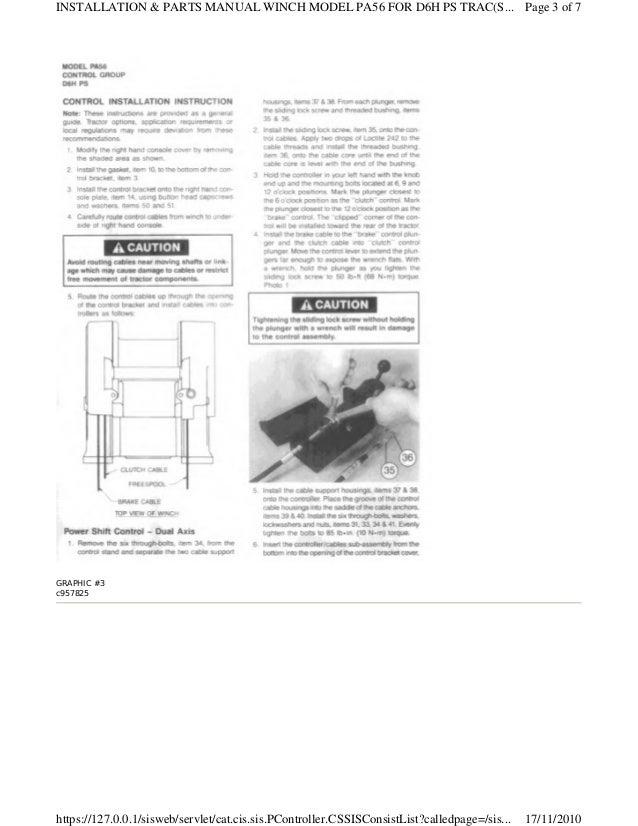 67470573 Parts Manual D6 H 1