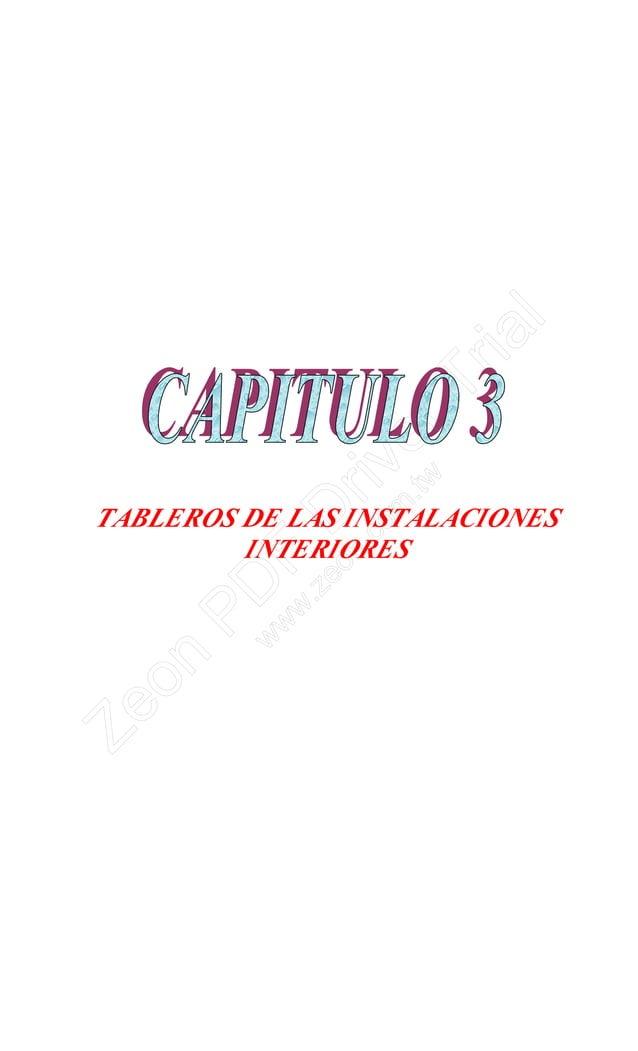 TABLEROS DE LAS INSTALACIONES INTERIORES Zeon PD F D river Trial w w w .zeon.com .tw