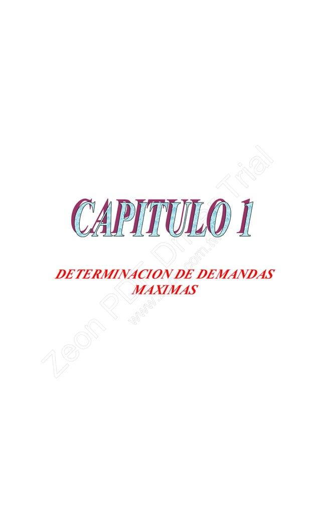 DETERMINACION DE DEMANDAS MAXIMAS Zeon PD F D river Trial w w w .zeon.com .tw