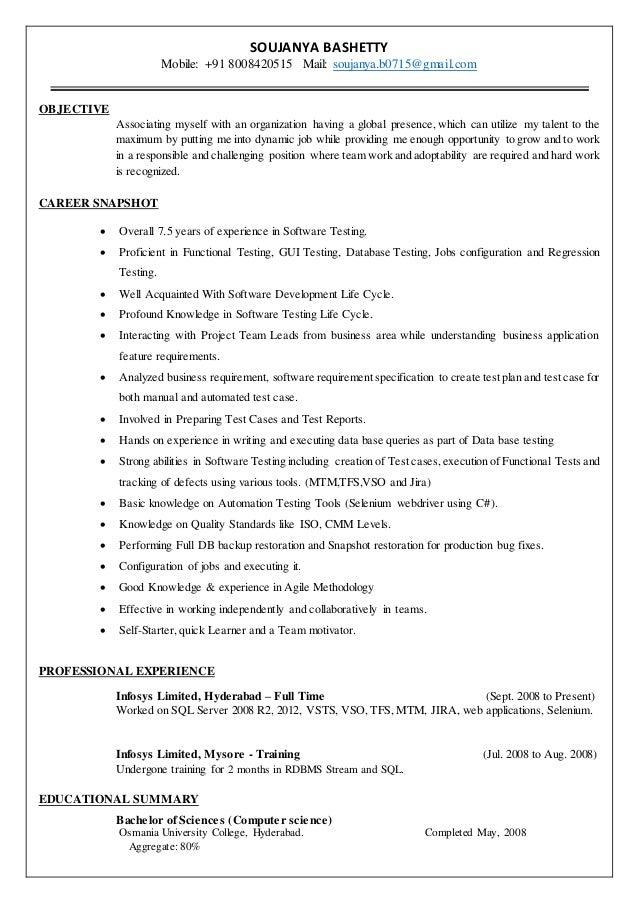 Soujanya_Functionaltesting_Resume