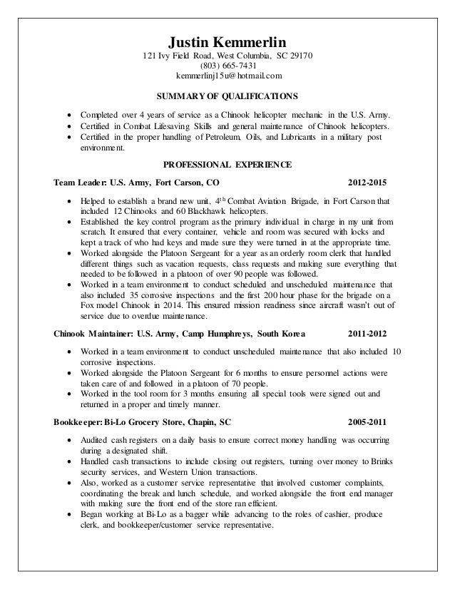 Acap resume help