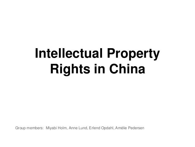 infringement of intellectual property rights pdf