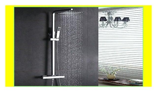 Duscharmatur Duschsystem Edelstahl Duschset Handbrause Regendusche Duschpaneel