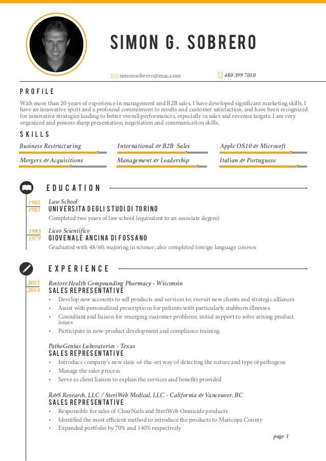 how to lay out a resumes