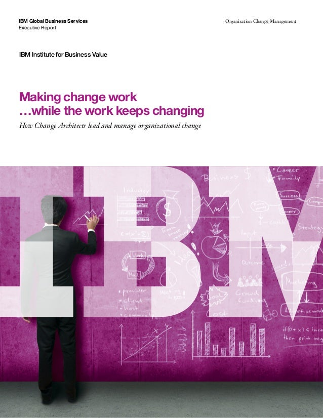 ibm case study organizational change Leadership, change, and organizational effectiveness surveys, and organizational case studies) %ibm_2003=2doc.