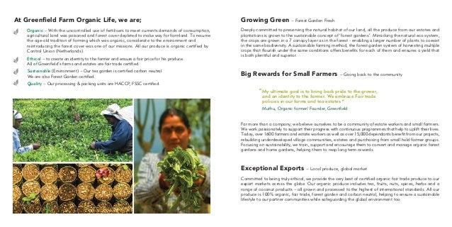 Greenfield Bio catalog
