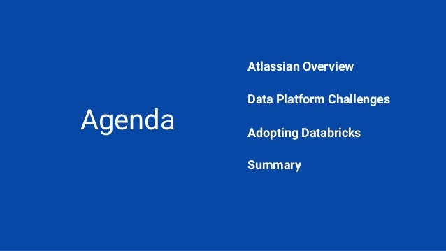 Scaling and Modernizing Data Platform with Databricks Slide 2