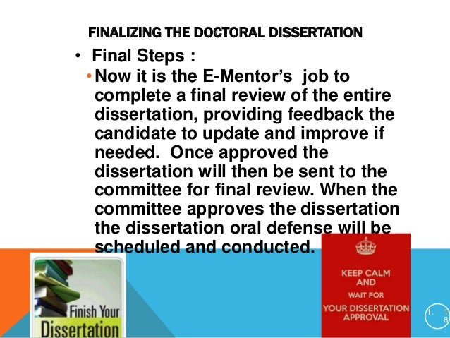 Who is the suitable mentor for writing a dissertation?