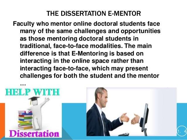 Doctoral dissertations online student