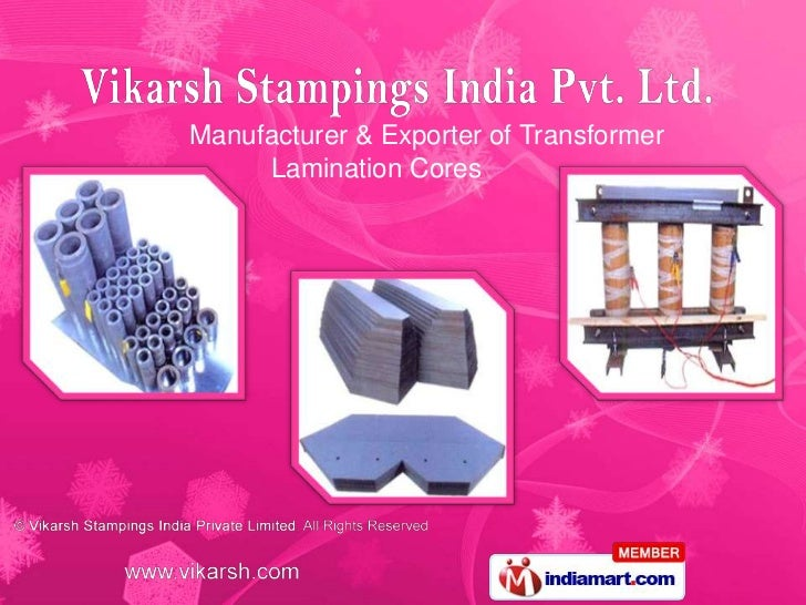 Manufacturer & Exporter of Transformer     Lamination Cores