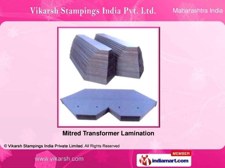 Maharashtra IndiaMitred Transformer Lamination