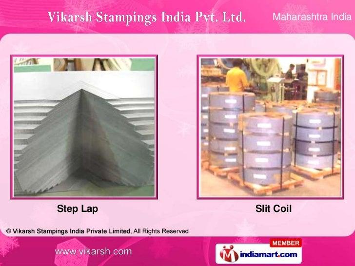 Maharashtra IndiaStep Lap   Slit Coil