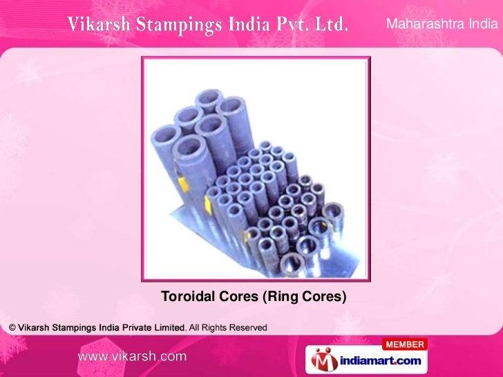 Maharashtra IndiaToroidal Cores (Ring Cores)