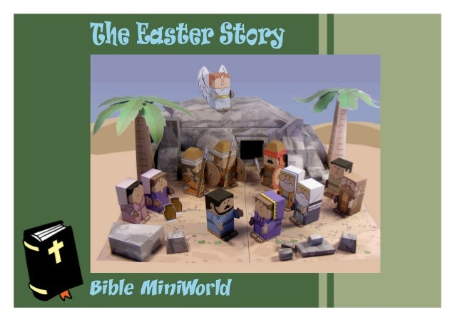 Bible MiniWorld The Easter Story
