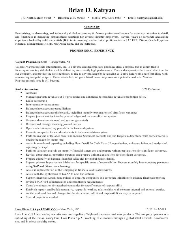 Awesome Seek Accounting Resume Images - Best Resume Examples and ...