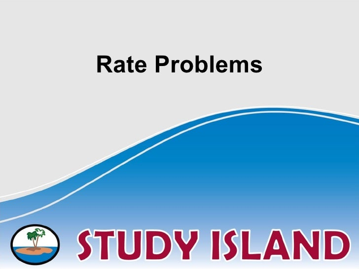 Rate Problems