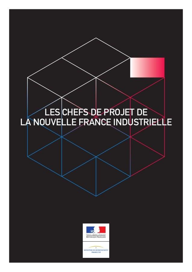 Les chefs de projet de la nouvelle france industrielle