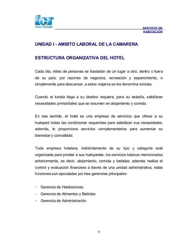 6801022 servicio de habitacion for Manual de procedimientos de alimentos y bebidas de un hotel