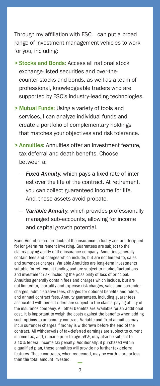 Fsc stock options