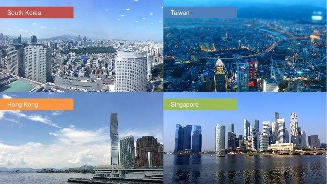 four asian tigers powerpoint template - slidemodel, Modern powerpoint
