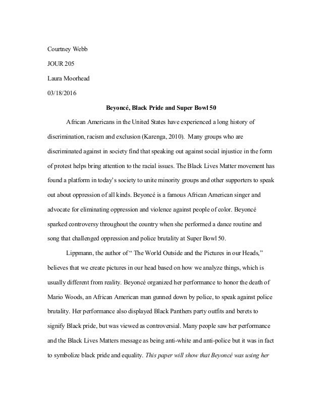 essay on discrimination against african americans
