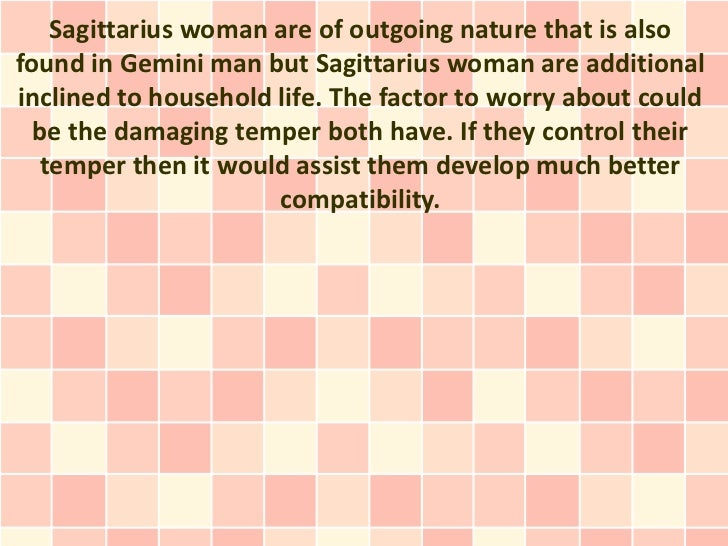 What attracts a gemini man to a sagittarius woman, love and ...