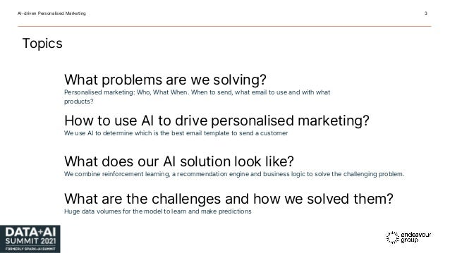 AI-Driven Personalized Email Marketing Slide 3