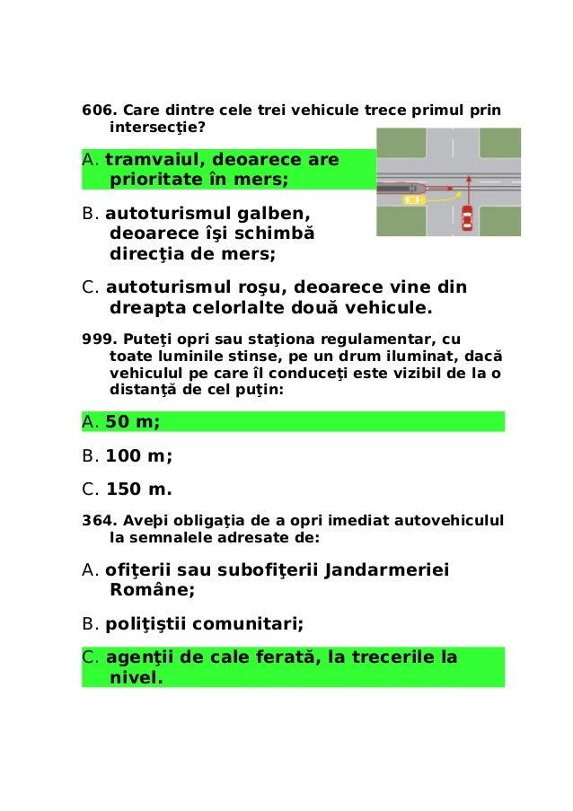 Aveti Obligatia De A Opri Vehiculul La Semnalele Adresate De
