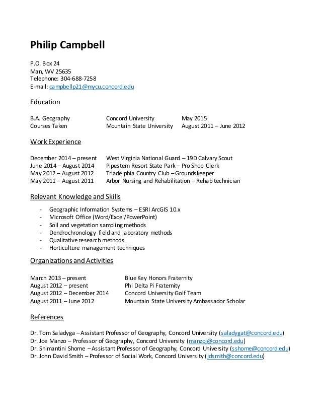 Philip Campbel Resume Revised