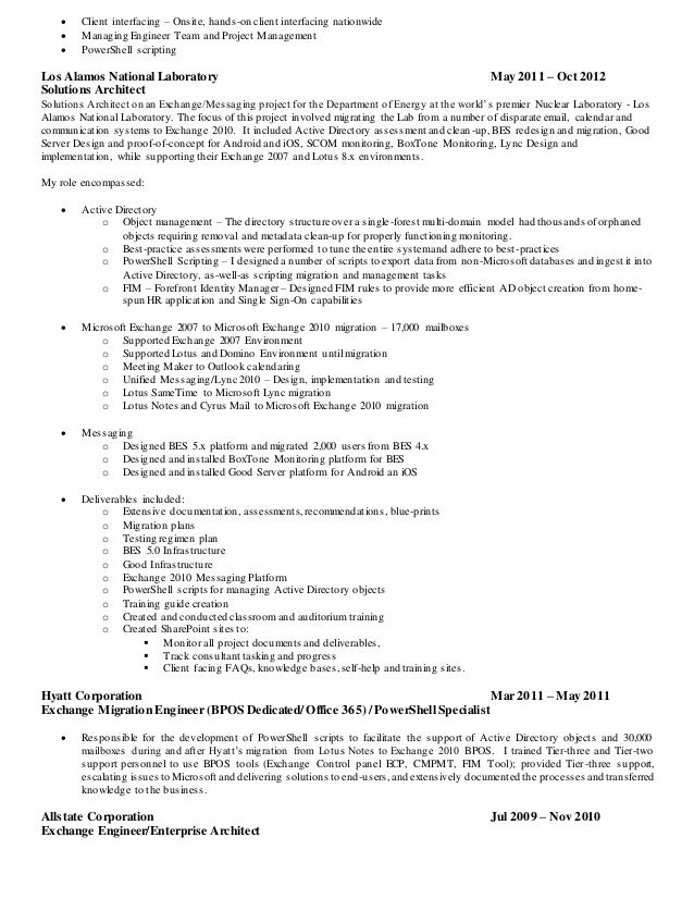 James Manning Resume