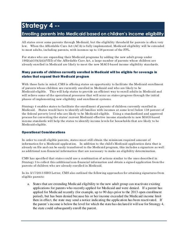 ISM White Paper 2013 (ACA SHO Letter)