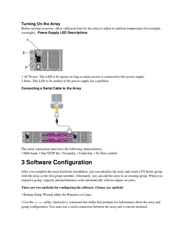 Dell equallogic configuration guide.