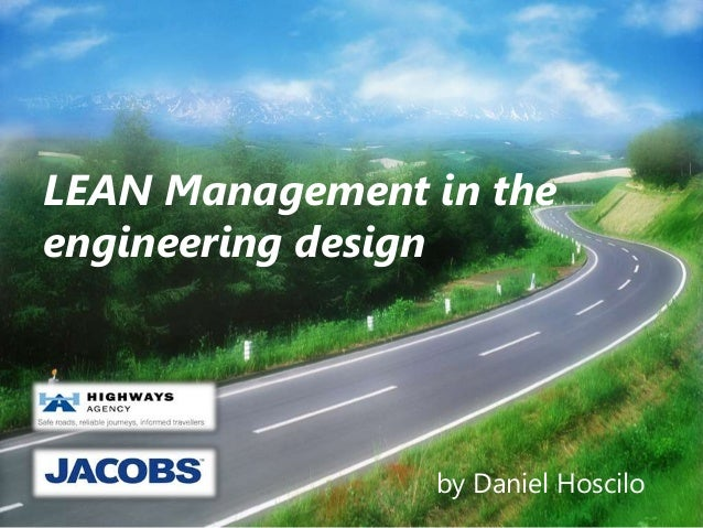 LEAN Management in the engineering design by Daniel Hoscilo