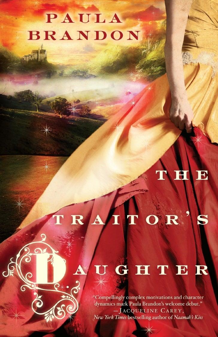 theTraitor'sDaughter     hPaula Brandon ballantine books     New York