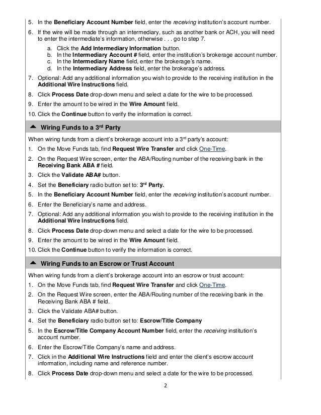 wire transfer instructions 2 638 jpg cb 1448970242 rh slideshare net Internet Escrow wiring gift money to escrow