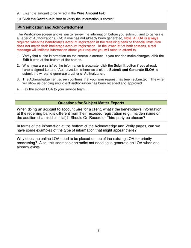 wire transfer instructions rh slideshare net Escrow Forms or Templates Escrow Forms or Templates