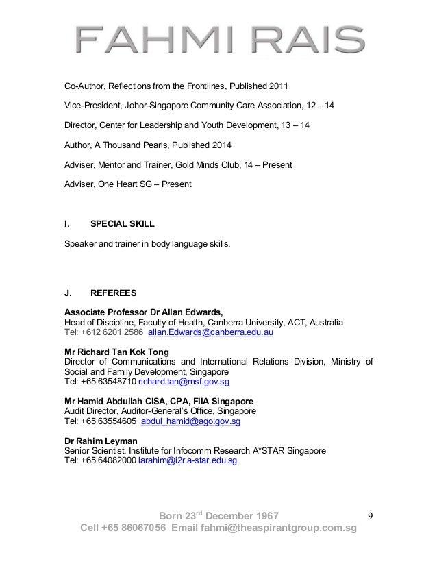 fahmi rais cv 2015
