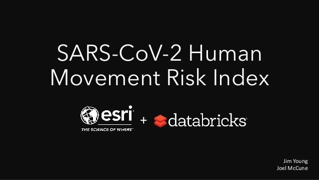 SARS-CoV-2 Human Movement Risk Index Jim Young Joel McCune +