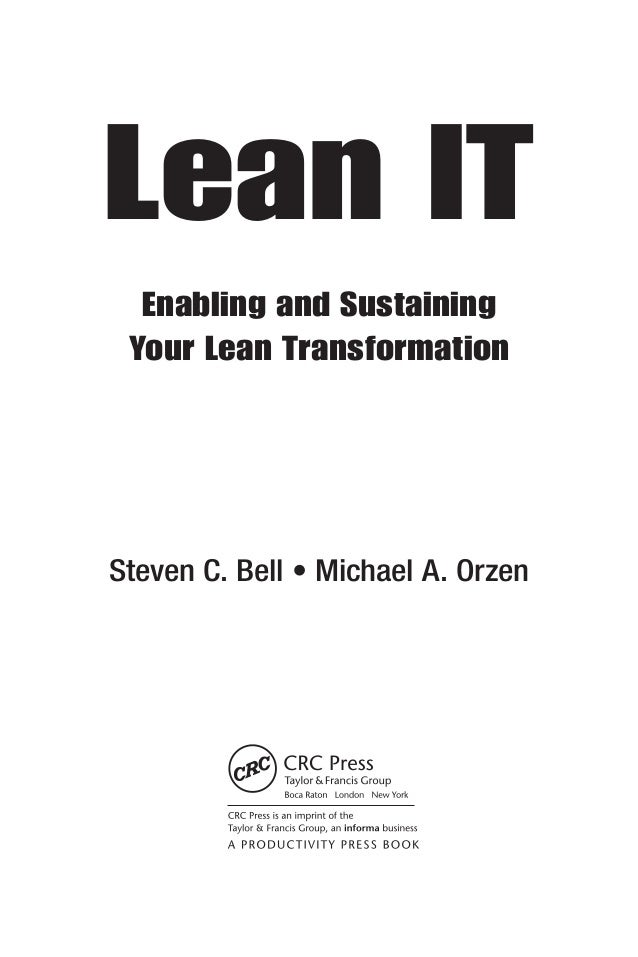68804943 lean-it-enabling-and-sustaining-your-lean