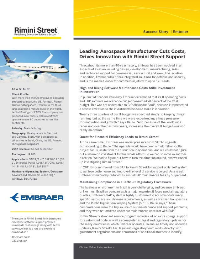Throughout its more than 40-year history, Embraer has been involved in all aspects of aviation including design, develop...