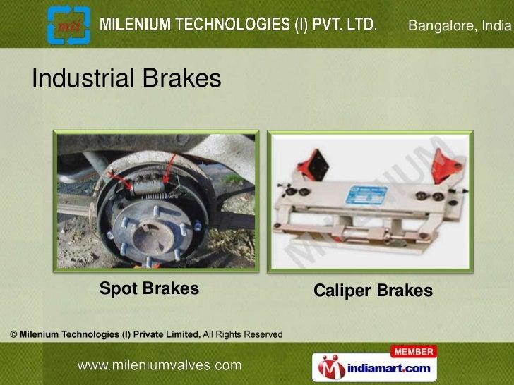 Bangalore, IndiaIndustrial Brakes      Spot Brakes   Caliper Brakes