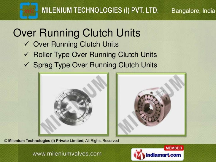 Bangalore, IndiaOver Running Clutch Units   Over Running Clutch Units   Roller Type Over Running Clutch Units   Sprag T...