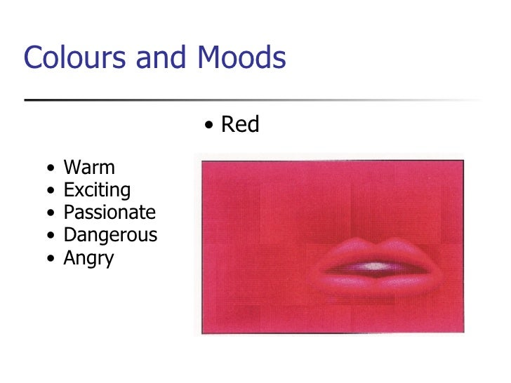 Colour Moods colour theory presentation