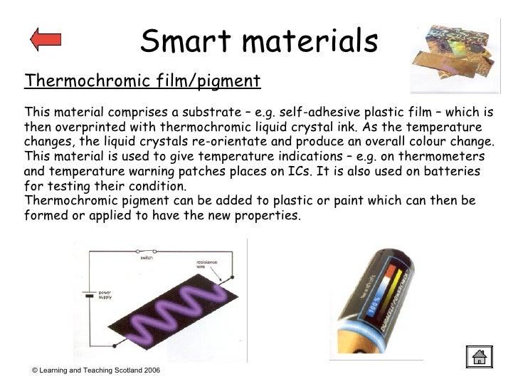 Materials Presentation